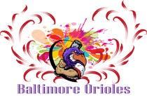 Graphic Design Inscrição do Concurso Nº4 para Baltimore Orioles Custom T-shirt design