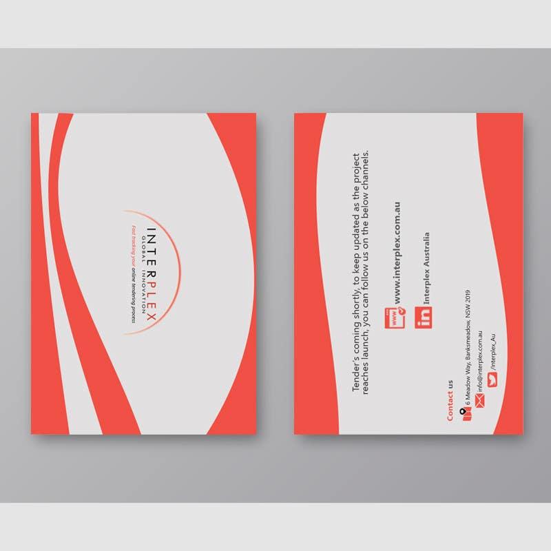 Konkurrenceindlæg #                                        12                                      for                                         Design a Brochure + Folder for a digital construction company