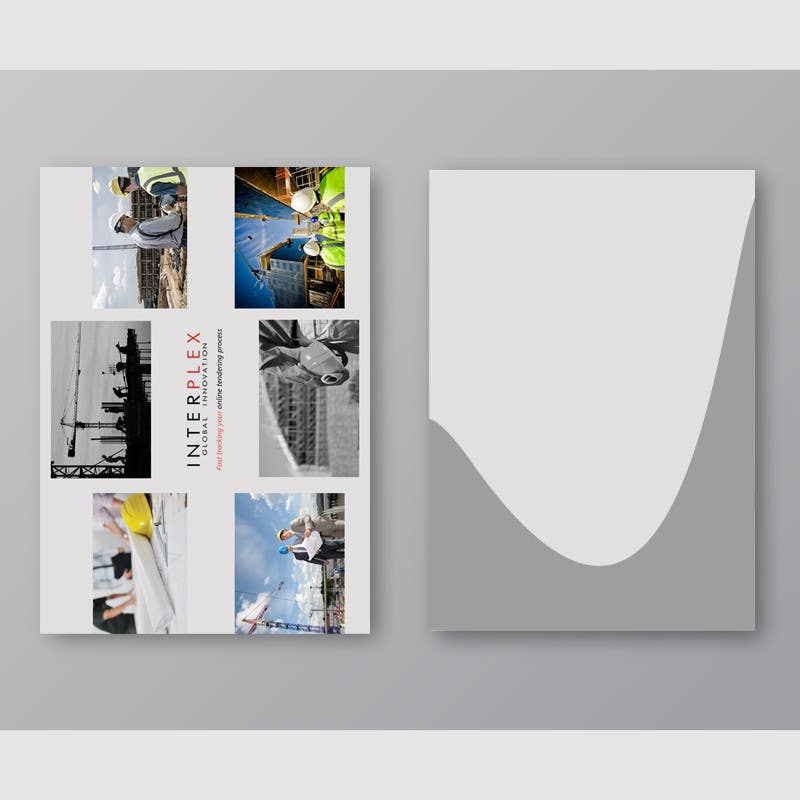 Contest Entry #                                        13                                      for                                         Design a Brochure + Folder for a digital construction company