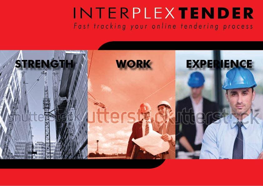 Konkurrenceindlæg #                                        6                                      for                                         Design a Brochure + Folder for a digital construction company