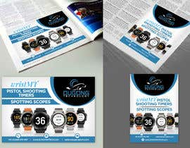 nº 3 pour Create 1/4 page & 1/2 page advertisement for printed magazine par guradesign0
