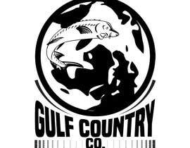 #37 cho Website/Hat/T-shirt logo is needed. The Company is called Gulf Country Co. I have a tag line that I'd like added also which is: Hunting & Fishing. This is an Australian Company. It's a new company that will sell apparel. Including hats. Shirts bởi sujonmj82