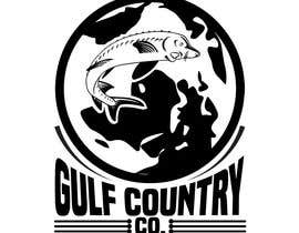 #38 cho Website/Hat/T-shirt logo is needed. The Company is called Gulf Country Co. I have a tag line that I'd like added also which is: Hunting & Fishing. This is an Australian Company. It's a new company that will sell apparel. Including hats. Shirts bởi sujonmj82