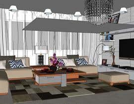 nº 2 pour Design Living Room par catvil12312