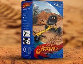 Nro 39 kilpailuun Packaging Design - Colour Outer Box for Kids Toy (Hoverkart) käyttäjältä JoGuillenA20