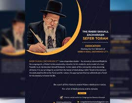 nº 145 pour Design a Flyer for an Event (Sefer Torah) par liponrahman