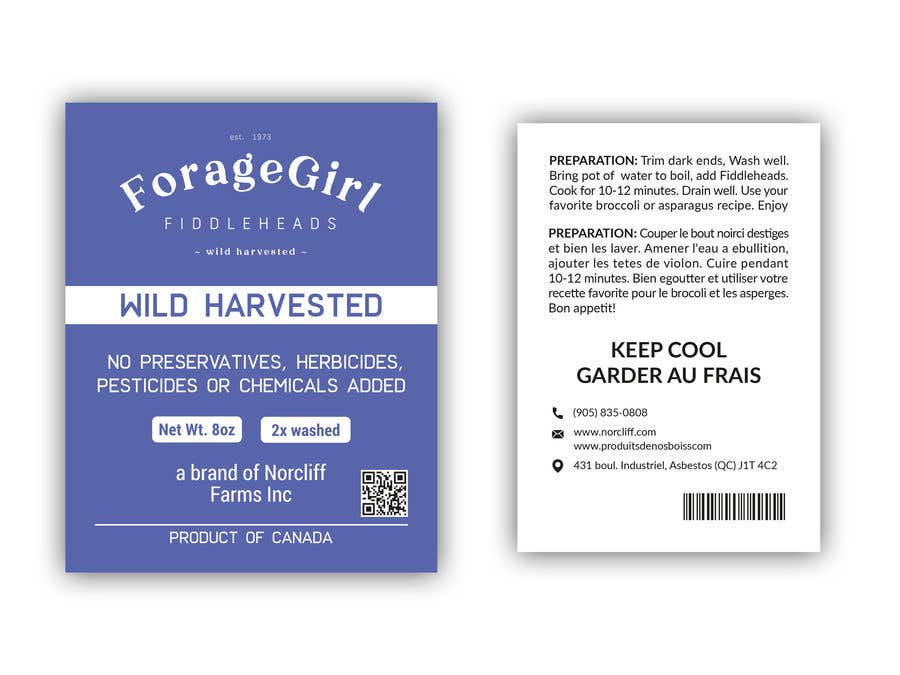 Contest Entry #                                        31                                      for                                         Produce Label