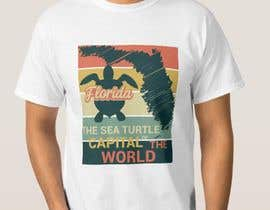 #323 for FLORIDA SEA TURTLE T- SHIRT DESIGN by abjim