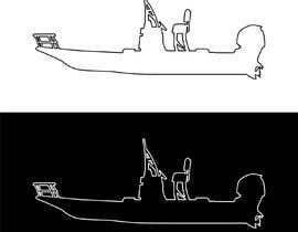 Nro 9 kilpailuun boat silhouette käyttäjältä rockztah89