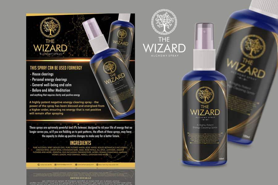 Bài tham dự cuộc thi #                                        159                                      cho                                         Alchemy Spray Mist Labels and Flyer