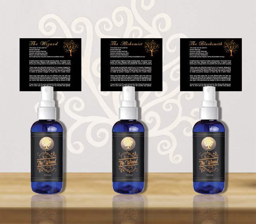 Bài tham dự cuộc thi #                                        112                                      cho                                         Alchemy Spray Mist Labels and Flyer
