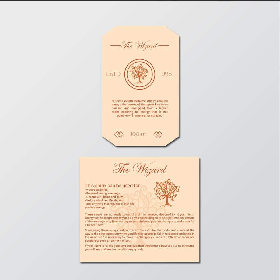 Bài tham dự cuộc thi #                                        107                                      cho                                         Alchemy Spray Mist Labels and Flyer