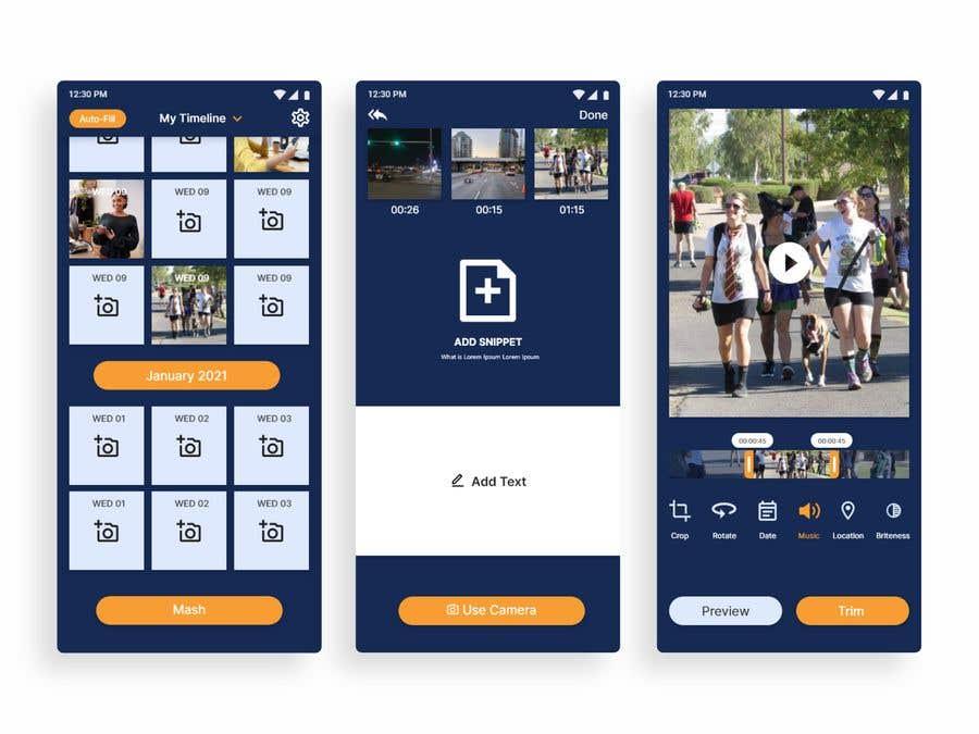 Bài tham dự cuộc thi #                                        21                                      cho                                         Redesign iOS App UI and Graphics