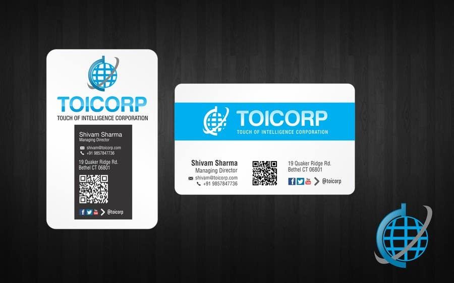 Contest Entry #                                        35                                      for                                         Logo & Stationery & Business Card Design for Touch of Intelligence Corporation