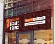 Graphic Design Kilpailutyö #15 kilpailuun escape room signage