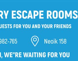 #8 for escape room signage by apjahidhasan