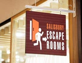 #44 for escape room signage by castellani15