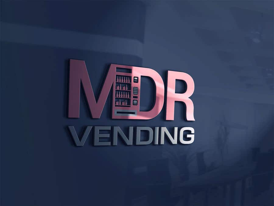 Kilpailutyö #                                        100                                      kilpailussa                                         Logo For my Vending Business
