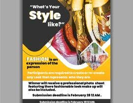 #23 for Fashion challenge flyer by RishArts