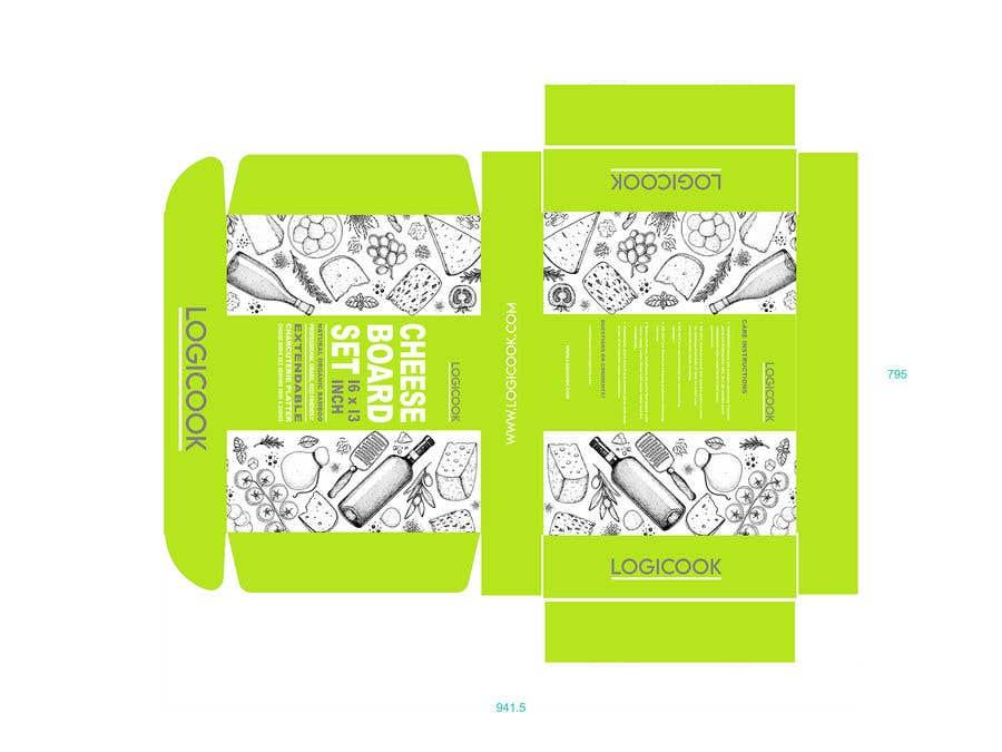 Kilpailutyö #                                        37                                      kilpailussa                                         Create Box Packaging for Kitchen Product