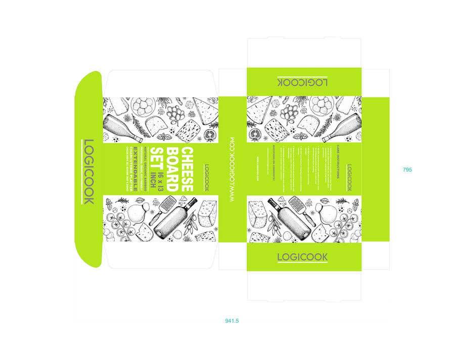 Kilpailutyö #                                        38                                      kilpailussa                                         Create Box Packaging for Kitchen Product