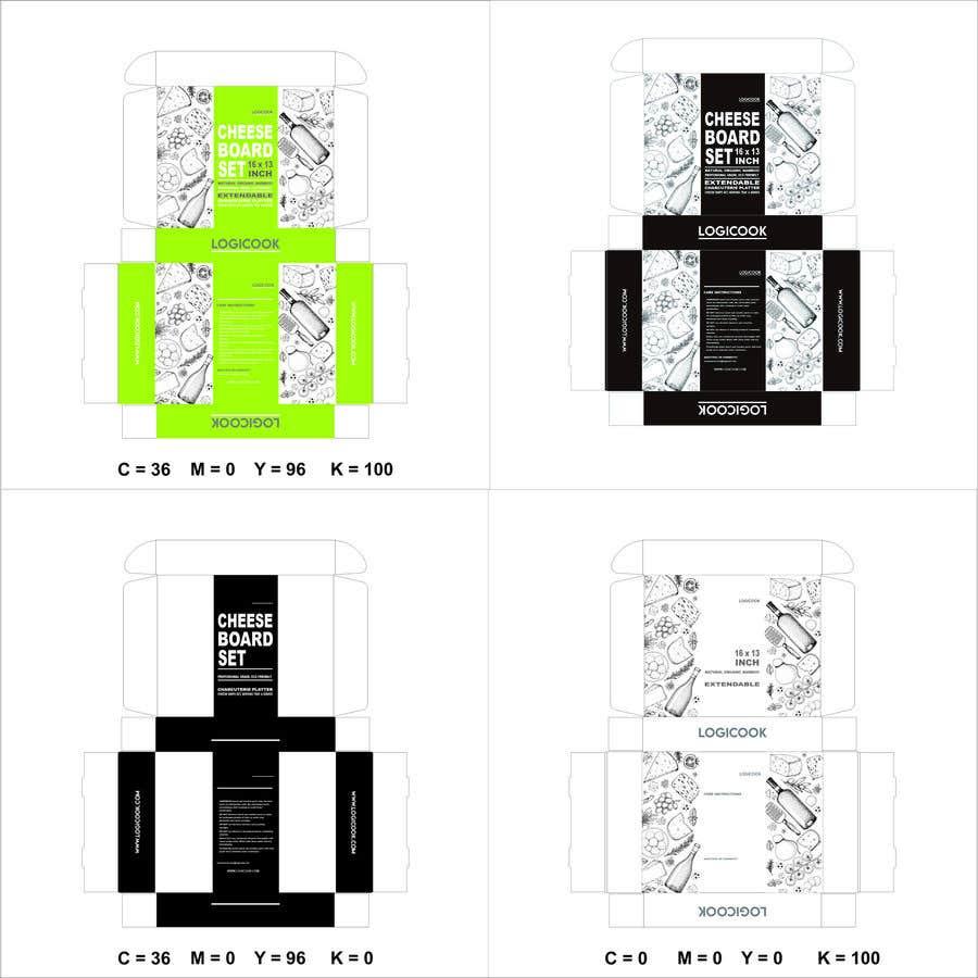 Kilpailutyö #                                        43                                      kilpailussa                                         Create Box Packaging for Kitchen Product