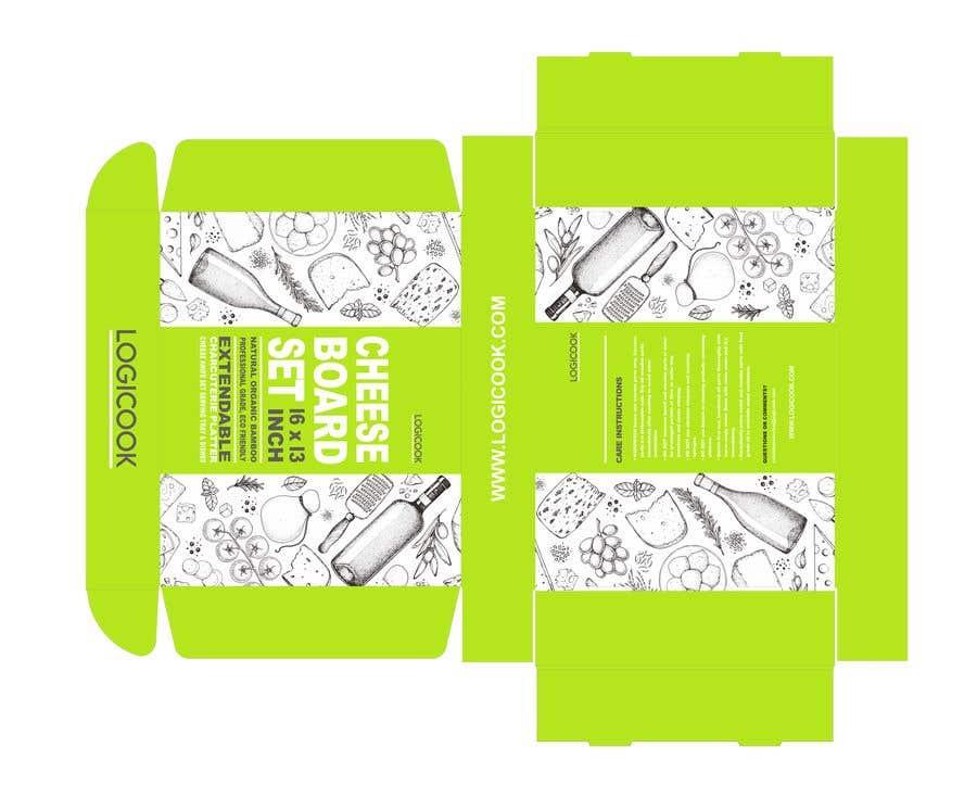 Kilpailutyö #                                        18                                      kilpailussa                                         Create Box Packaging for Kitchen Product
