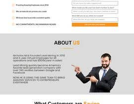 #45 for Landing Page Created by mdismailhossaina
