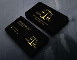 Nro 79 kilpailuun Business Card - Notary Public käyttäjältä masteracademy112