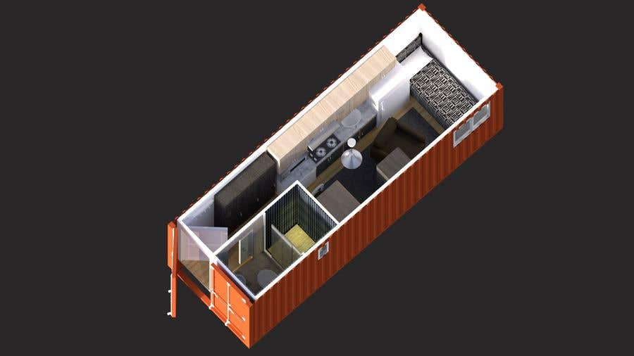 Bài tham dự cuộc thi #                                        20                                      cho                                         Shipping container conversion to site accommodation unit