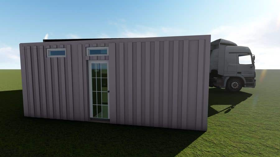 Bài tham dự cuộc thi #                                        25                                      cho                                         Shipping container conversion to site accommodation unit