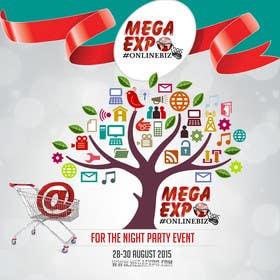 #26 for Design a Logo for a event name `#ONLINEBIZ MEGA EXPO 2015 af malg321