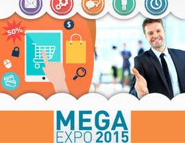 #15 cho Design a Logo for a event name `#ONLINEBIZ MEGA EXPO 2015 bởi ryom93