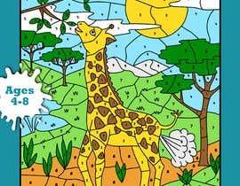 sarahvappel tarafından Book Cover - Animal Farting Color By Number Book için no 8