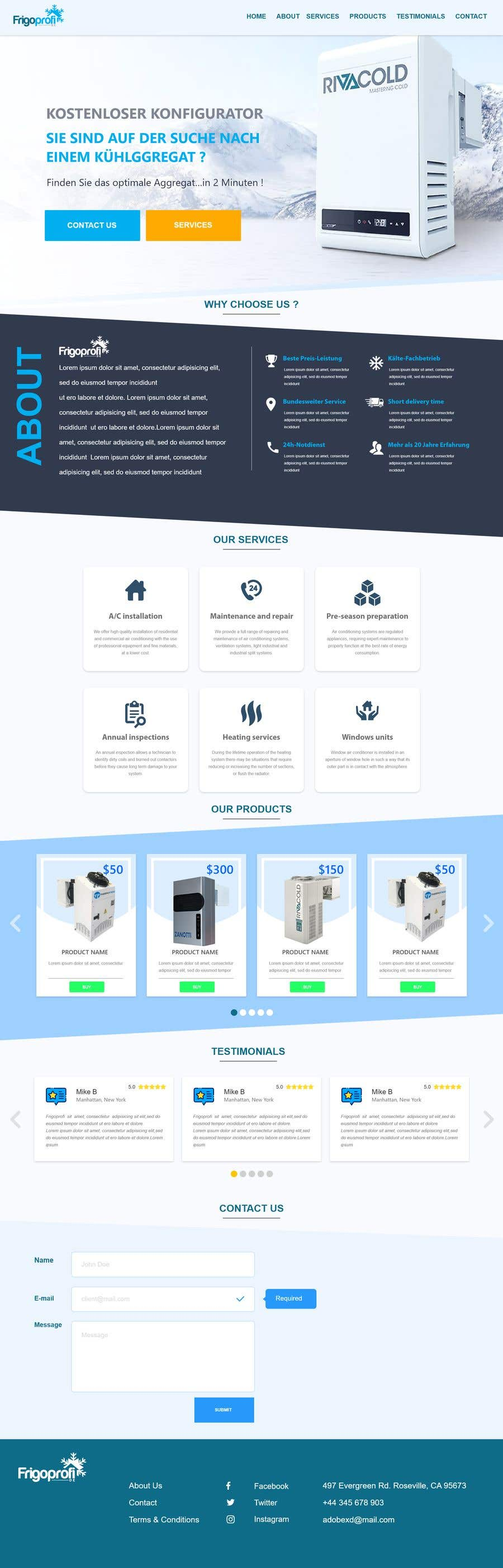 Contest Entry #                                        47                                      for                                         I need a redesign of website