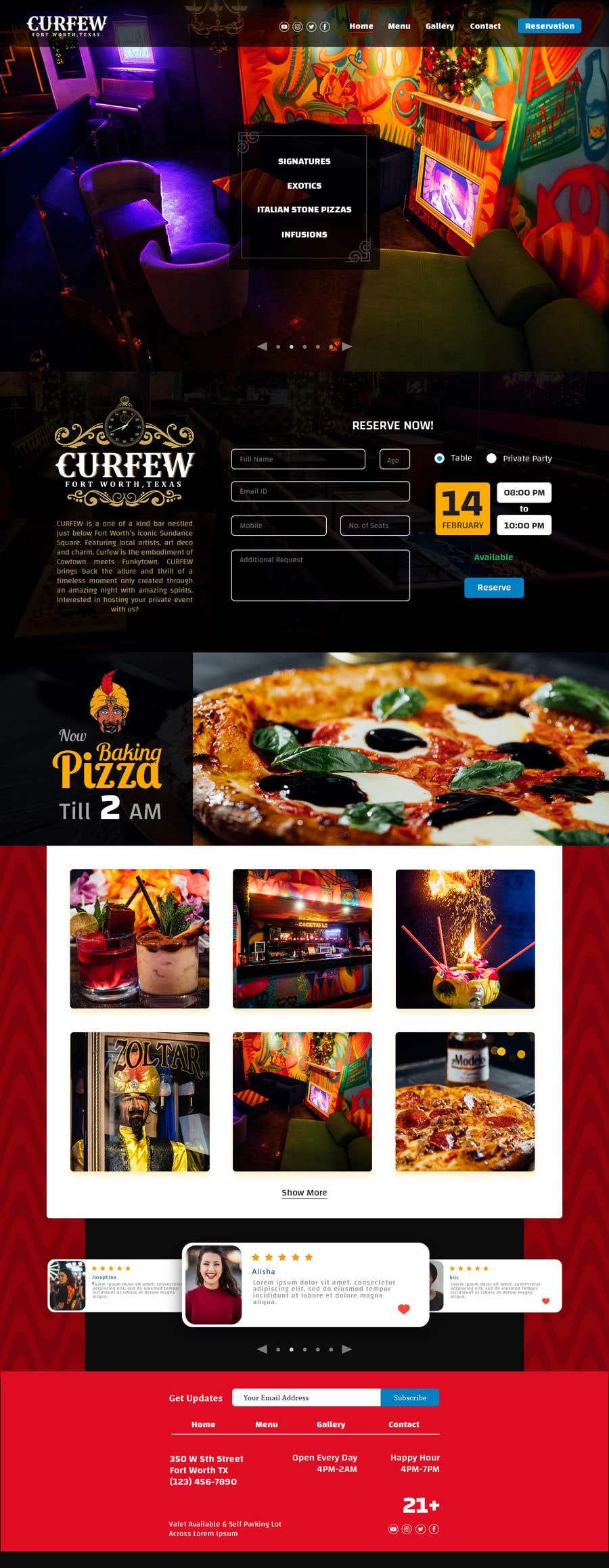 Contest Entry #                                        162                                      for                                         Design FUN Website for Speakeasy Concept