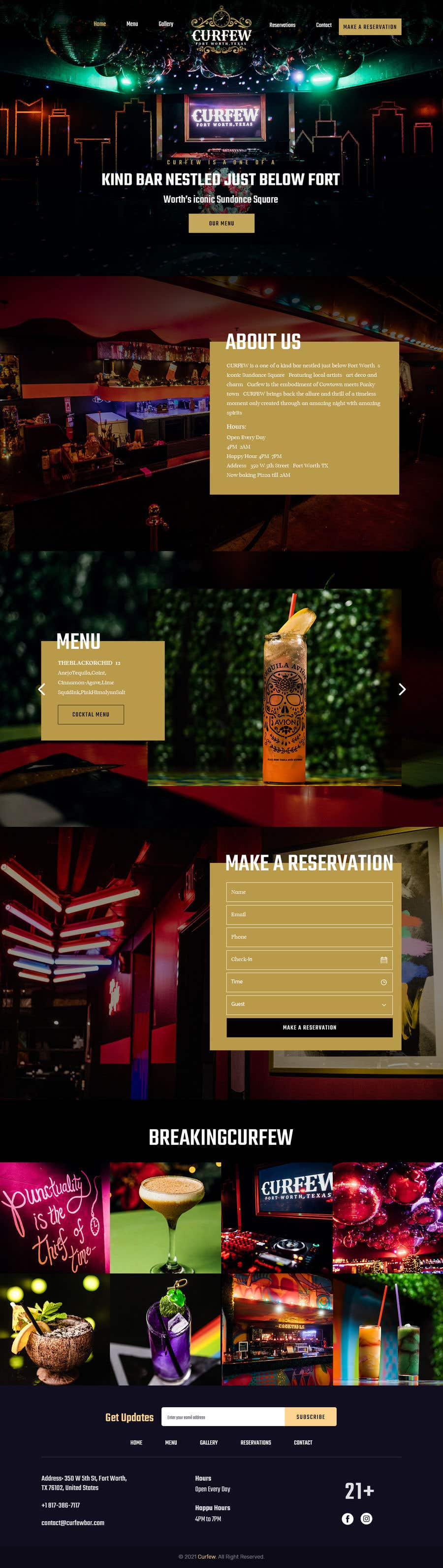 Contest Entry #                                        106                                      for                                         Design FUN Website for Speakeasy Concept