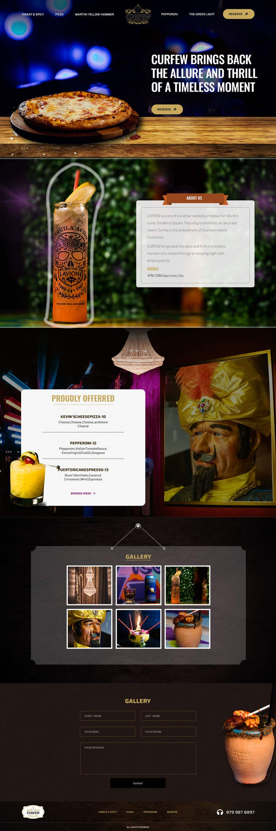Contest Entry #                                        157                                      for                                         Design FUN Website for Speakeasy Concept