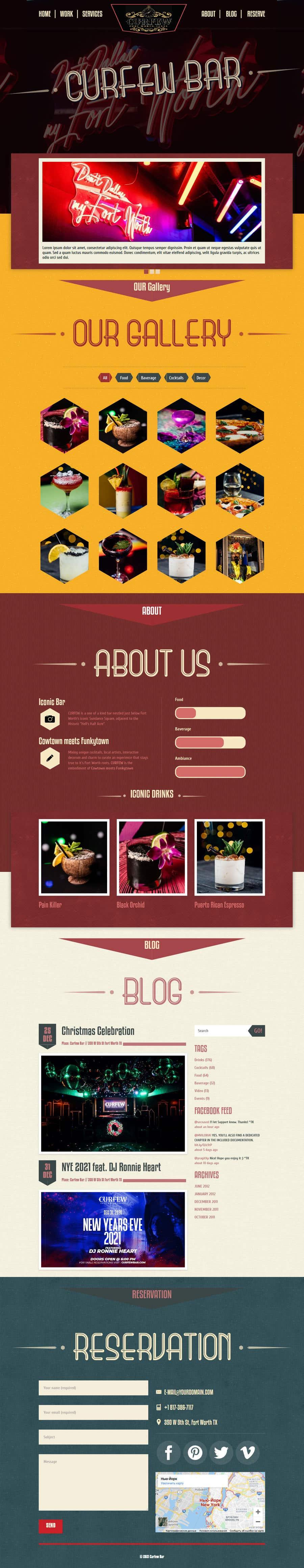 Contest Entry #                                        169                                      for                                         Design FUN Website for Speakeasy Concept