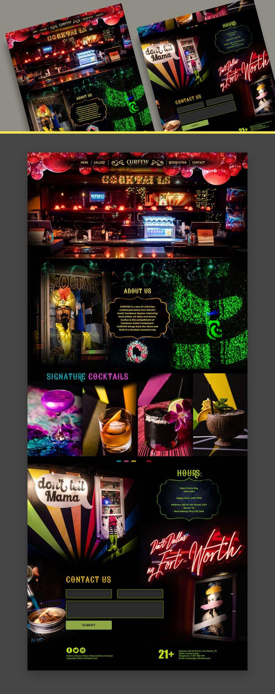 Contest Entry #                                        56                                      for                                         Design FUN Website for Speakeasy Concept