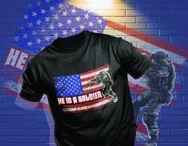 #87 for Distressed US Flag Patriot T-Shirt Design - 27/01/2021 02:53 EST by uniquesabiha