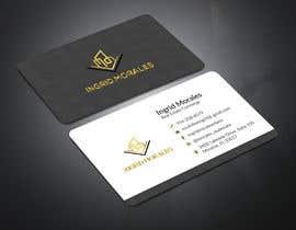 #95 for Ingrid Morales - Business Cards - 27/01/2021 06:04 EST af designacademy11