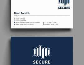 #414 for Cloud Secure Needs business card by Uttamkumar01