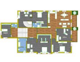 #15 for Create a new layout for refurbishment of an upper floor in .pdf and .dwg af brazi2803