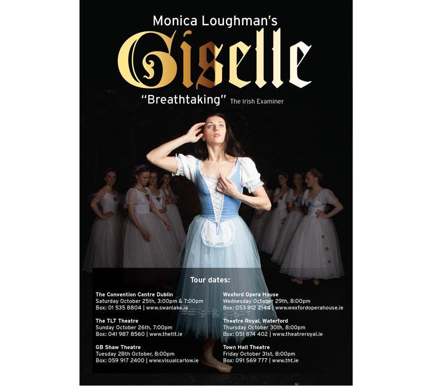 Kilpailutyö #16 kilpailussa Graphic Design for Ballet Flyer / Poster
