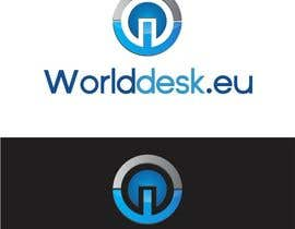 #9 untuk Design a Logo for the future system Worlddesk.eu in 3d look oleh paijoesuper