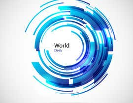 #6 para Design a Logo for the future system Worlddesk.eu in 3d look por picart