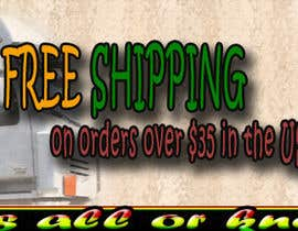 #21 for Create a banner ad for free shipping by Yousra14