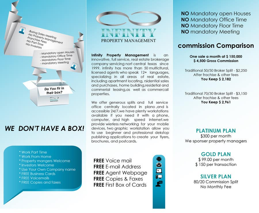 Contest Entry #                                        2                                      for                                         Design a Brochure for real estate agent marketing
