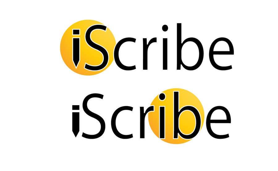 Kilpailutyö #14 kilpailussa Logo Design for iScribe